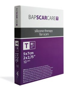 Littekenverband bapscarcare 5x7 cm