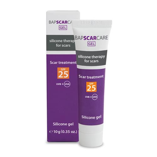 bapscarcare silicone gel 10 gram met SPF25